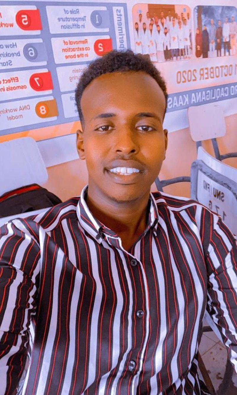 I'm from Somalia 🇸🇴