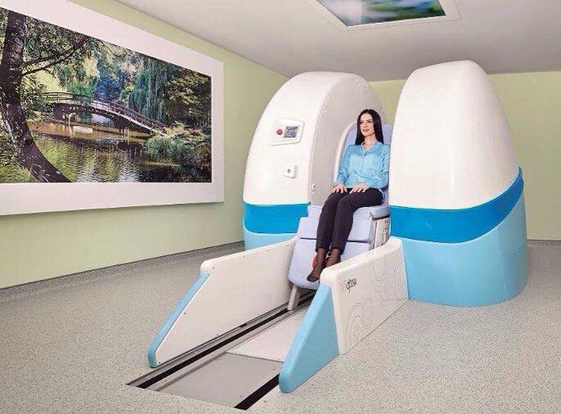 Upright MRI