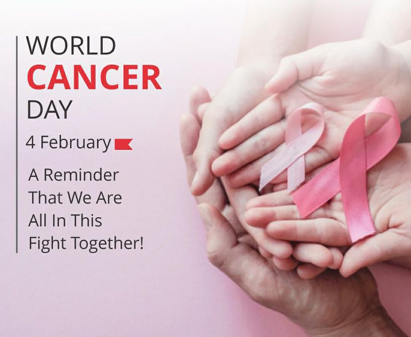 WORLD CANCER DAY.